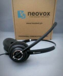 RJ-9-Neovox-500D-Noise-Canceling-Headset-for-Call-Center-use