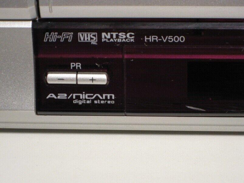 VHS videomaskine, JVC, HR-V500