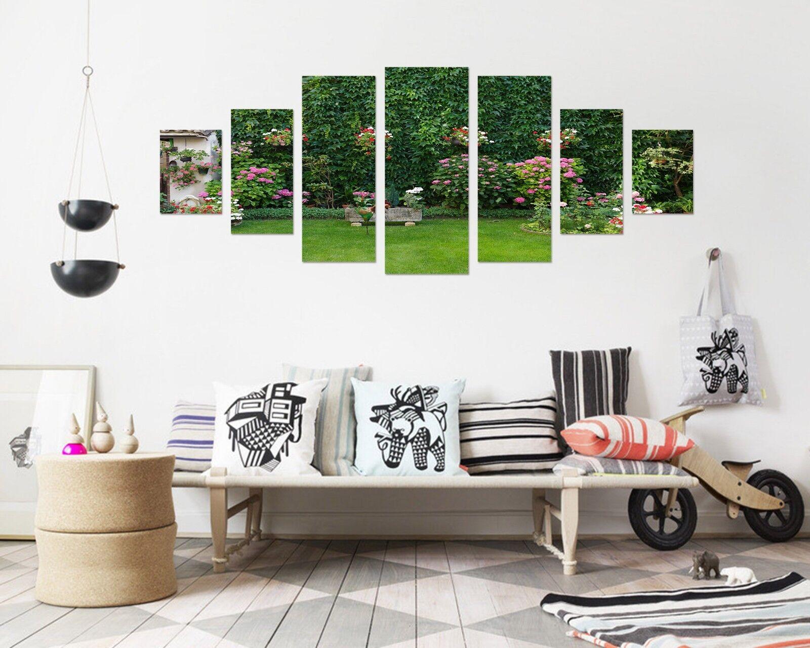 3D Grassland Plant Leaf 123 Unframed Print Wall Paper Deco Indoor AJ Summer