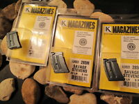 3-pack Us Made Savage Bolt Action And Anschutz 6 Rd Magazine Magazine Mag .22lr