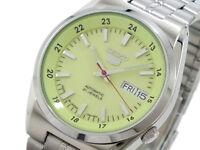 Seiko 5 Automatic Mens Watch Lumibrite Dial Japan Made SNK573J1 UK Seller