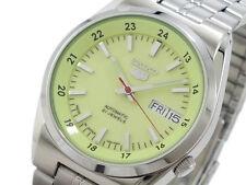 5 Reloj Para hombres Automático Seiko Lumibrite Esfera hecha en Japón SNK573J1 Reino Unido Vendedor