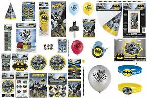 Image Is Loading Boys Birthday Party DC COMIC BATMAN RANGE Tableware