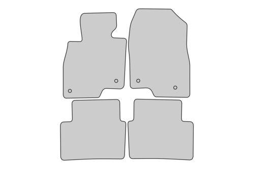 2013-2018 Sport Edition Auto Fußmatten für Mazda 3 ab Bj