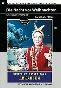 Die-Nacht-vor-Weihnachten-DVD-NEU-OVP-Russische-Maerchen-Klassiker