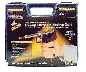 WALL LENK #LG400C  Heavy Duty Soldering Gun