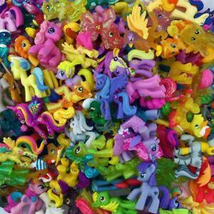 10pcs Bag No Repeat Mlp Toy Lot My Little Pony Toys Friendship Is Magic Random Ebay