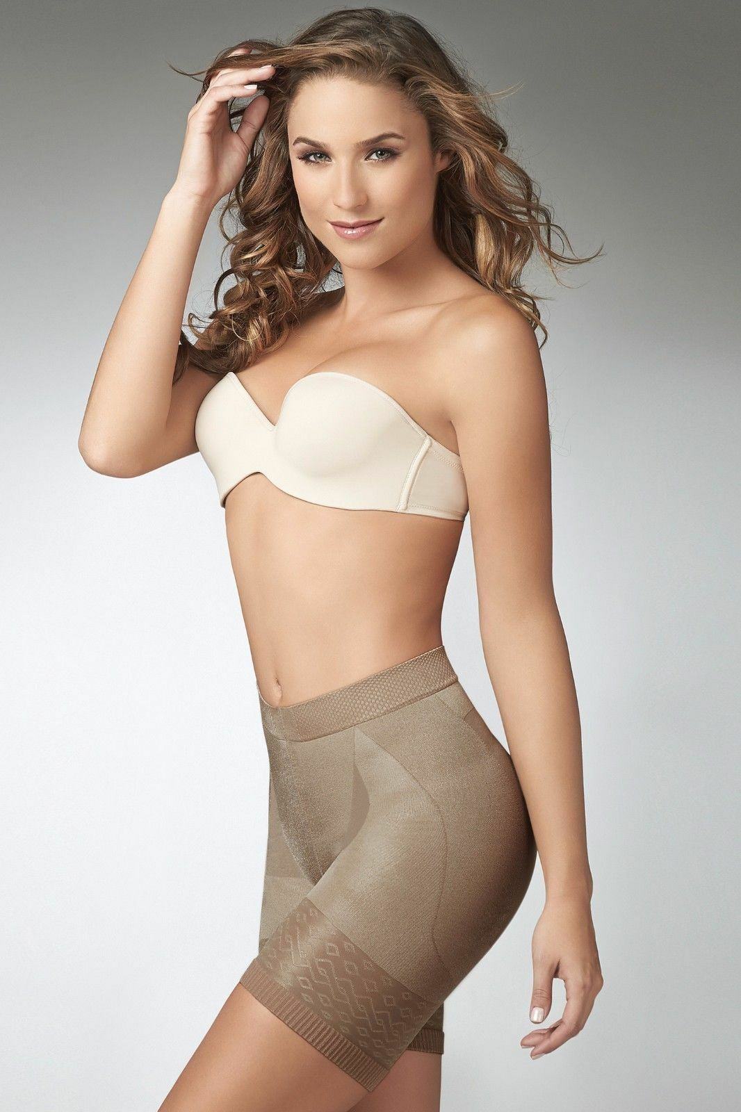 f1510a951fe Short Panty Body Shaper Skin Care Butt- Lifters Tummy Control Cocoon Ref.  1403 Small Beige for sale online