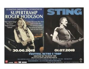 Flyer-STING-POLICE-SUPERTRAMP-french-Tour-2018