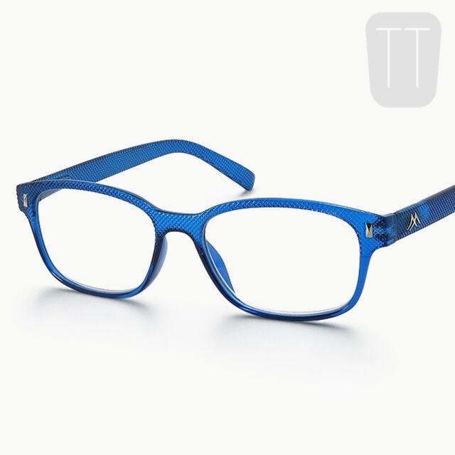 9ebabde21c92 Montana Strength Plus 3.50 Blue Textured Reading Glasses
