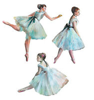 Ballerina Dancing Tutus Ballet 25 Tutu Wallies Wall Sticker Dance Decorate Decal