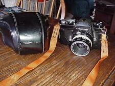 Nikon Nikkormat FT N black body f=50mm Nikkor-h 1:2 Nippon Kogaku lens w/case