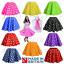 Ninos-Ninas-Rock-N-Roll-Full-Circle-Lunares-Falda-anos-50-Fancy-Dress-Costume-Jive