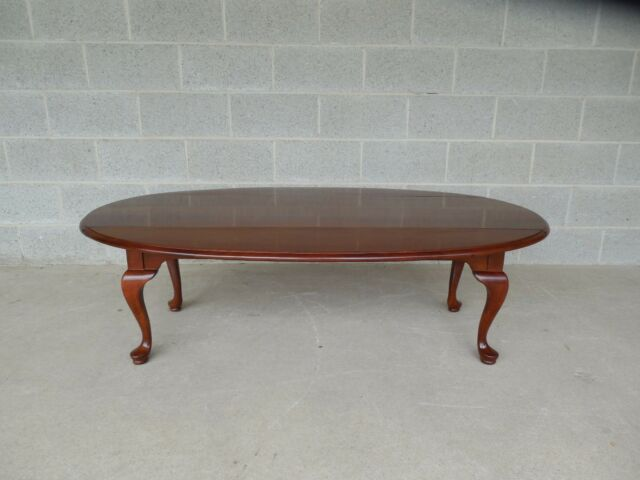 Monitor Furniture Solid Cherry Drop Side Coffee Table 55