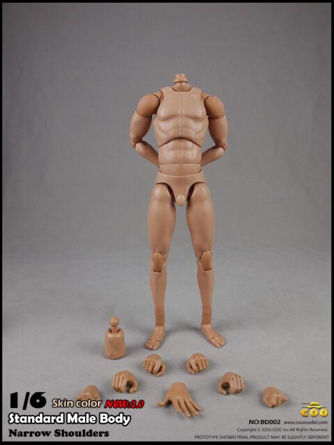 COOMODEL COO Standard Male Narrow Shoulders High Body(27cm) Skin color 2.0 1/6