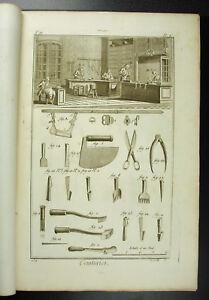 Maker-Belt-Girdler-Belt-Maker-Diderot-18th-1767-Booklet-Full-Complete