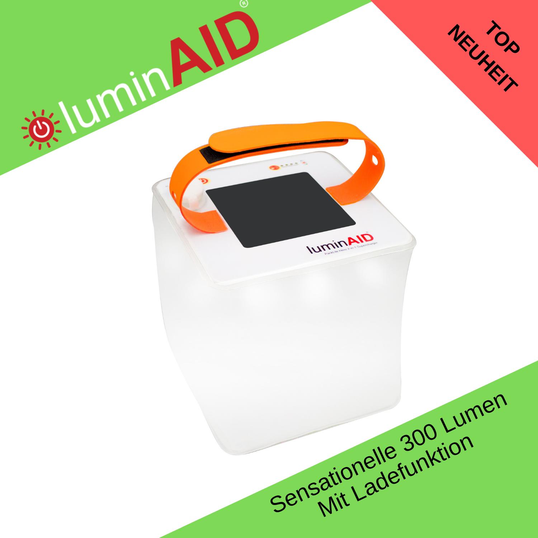 Lampada SOLARE LuminAID Packlite Hero 2in1 Supercharger