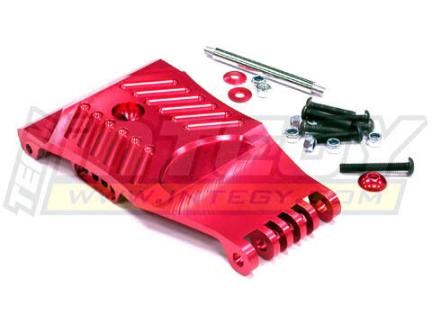 Integy T6882RED Front Skid Plate for HPI Baja 5T