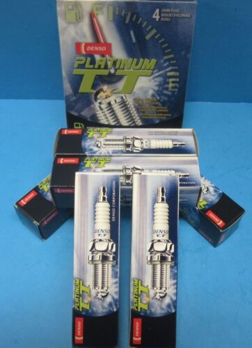 6 DENSO 4504 Spark Plugs Twin Tip Platinum TT OEM# PK20TT Made in Japan Set