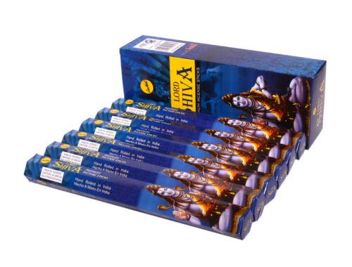 Premium Incense Stick Box 120 Sticks Lord Shiva Sreevani Incense