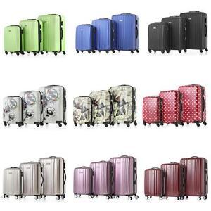 3Pcs-Luggage-Set-Trolley-Suitcase-ABS-PC-Hard-Shell-Lock-Wheels-Travel-Bag-N8M1