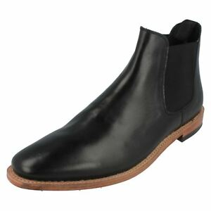 Harrykson-MH3013B-Mens-Black-Chelsea-Ankle-Boots