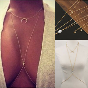 Crystal-Crescent-Moon-Bikini-Crossover-Harness-Waist-Belly-Body-Chain-Necklace