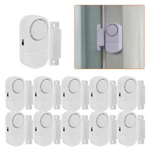 WIRELESS-Home-Window-Door-Burglar-Security-ALARM-System-Magnetic-Sensor