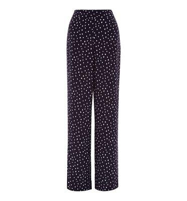 Various Sizes RRP £110. Hobbs Lily Navy Multi Dress