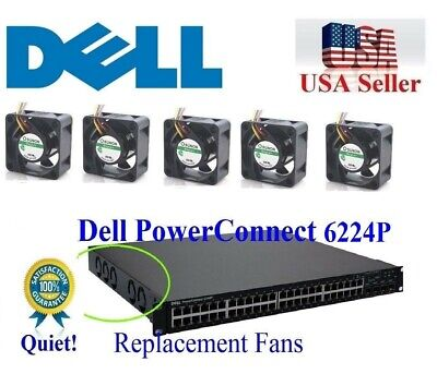 Dell PowerConnect 2724 2624 NEW H3636 Quiet Replacement Fan