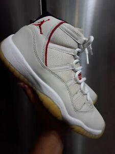 Air Jordan 11 Retro Platinum Tint Red
