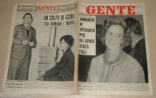 GENTE 1961/53=FABIOLA=MARIA SCICOLONE=SANDRA MILO=DELIA SCALA=SPENCER TRACY=