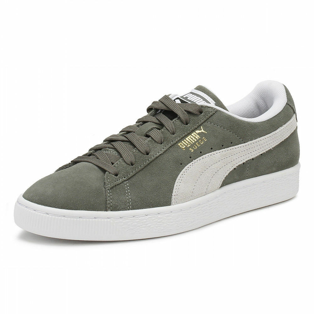 Brand New Unisex PUMA Suede Classic Trainers Grey White UK size 8.5
