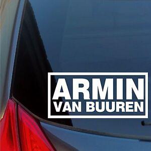 Armin-Van-Buuren-vinyl-sticker-decal-House-Trance-DJ-night-club-house-EDM-EDC