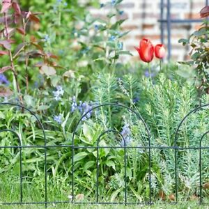 3m-x-40cm-Smart-Fence-Quality-Robust-Metal-Wire-Lawn-Border-Edging-Smart-Garden