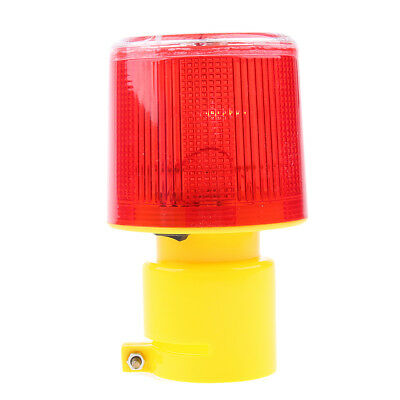 Industrial Warning Light Round Alarm Signal Workshop Beacon Red DC 24V