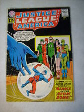 JUSTICE LEAGUE OF AMERICA #14 FLASH, GREEN LANTERN, WONDER WOMAN 1962 ATOM JOINS