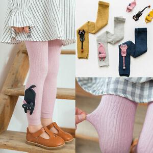 Girls Lovely Kids Knee High Socks Stocking Cotton Baby Toddler Leg Warm Leggings
