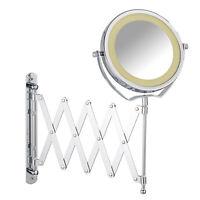 WENKO LED Kosmetik-Wandspiegel Teleskop Brolo Schminkspiegel Kosmetik B-Ware