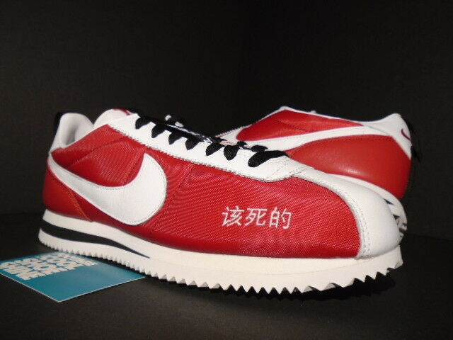 NIKE CORTEZ KENNY II 2 KENDRICK LAMAR KUNG FU RED WHITE BLACK AR5131-610 NEW 8.5