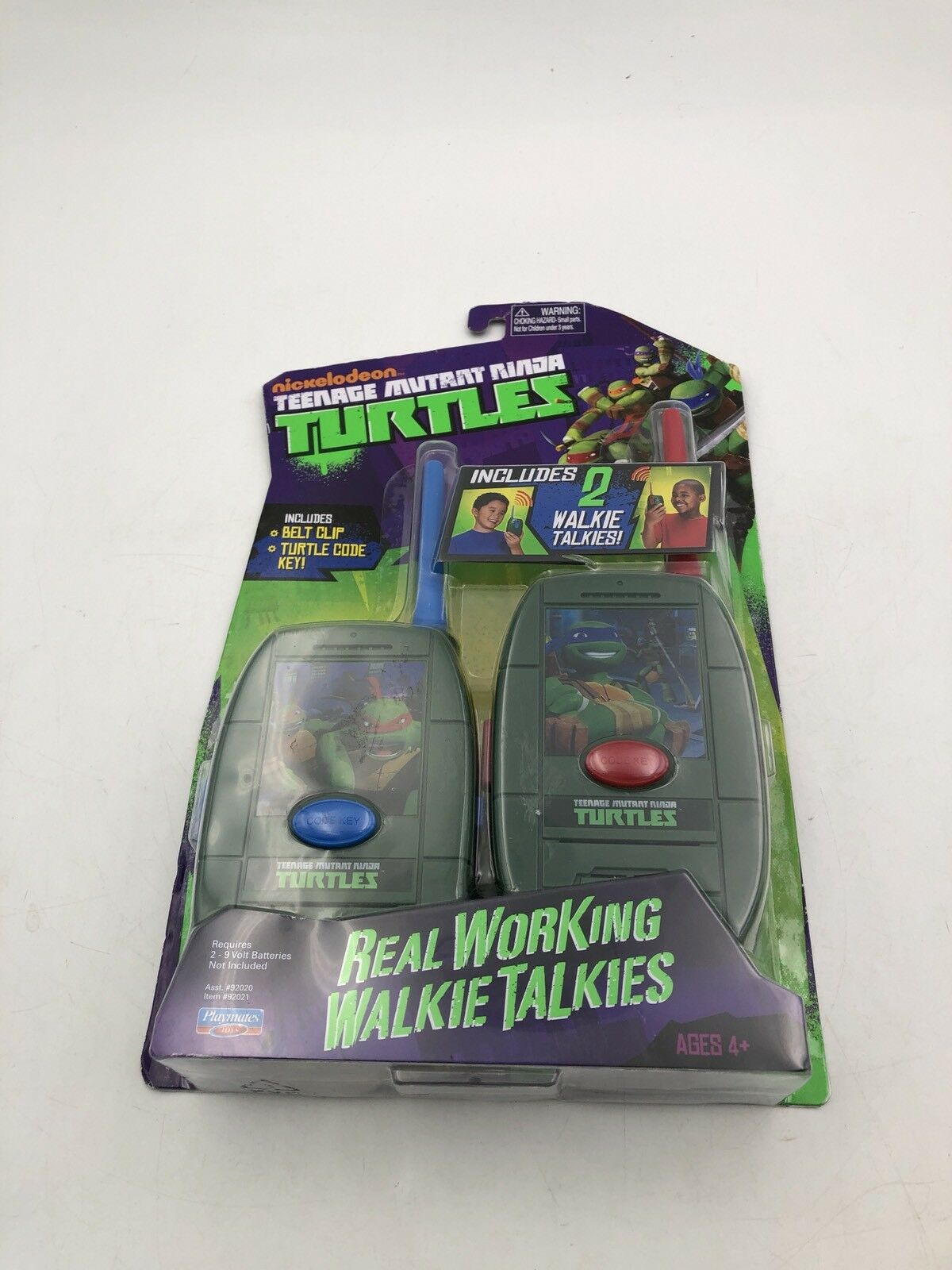 Die spielkameraden teenage mutant ninja turtles walkietalkie