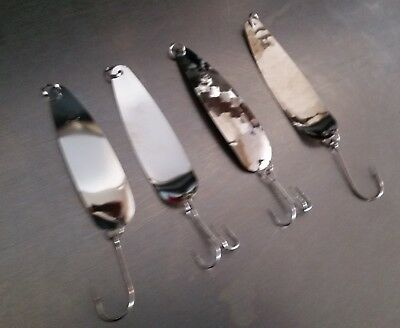 """fishing lures flutter spoons *88 Bladerunner /""""Sammy Pac/""""  #88 ultra thin"""