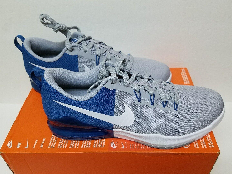 Nike Men's Training Size 10.5 Zoom Train Action Training Men's Shoes Blue/Grey/White 852438-400 52e462