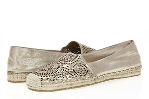 VINCE-CAMUTO-Womens-Nude-Leather-Espadrilles-Sz-9-M
