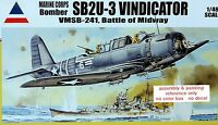 2 X 1/48 Accurate Miniatures SB2U-3 Vindicator
