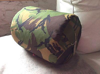 Fatto a mano a trama grossa CAMOUFLAGE Air Rifle resto BAG SPARATUTTO pouf a sacco cuscino azzeramento