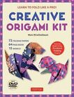 Creative Origami Kit: Learn to Fold Like a Pro! [Dvd; 64-Page Book; 72 Folding Papers] by Marc Kirschenbaum (Hardback, 2016)