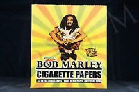 Full Box (50 Packs) Authentic Bob Marley King Size Papers Pure Hemp Natural Gum