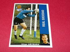 IÑIGO ARTEAGA FUTBOL REAL SOCIEDAD PANINI LIGA 95-96 ESPANA 1995-1996 FOOTBALL