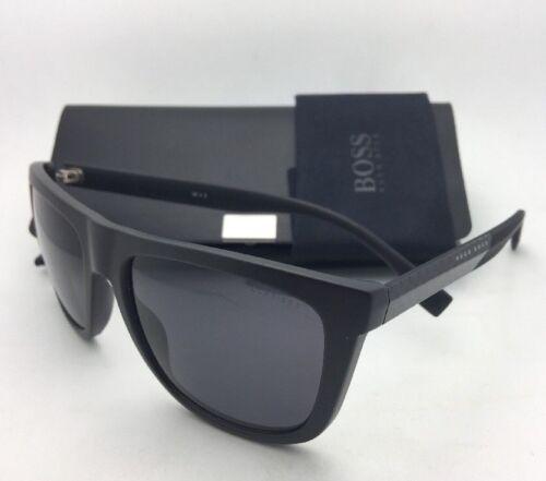 New HUGO BOSS Carbon Fiber Sunglasses 0834//S HWO3H Brown Frames Polarized Lenses